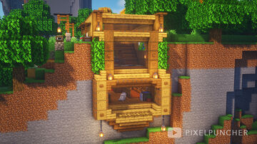 Cliff House Minecraft Map & Project