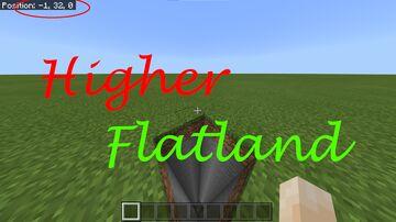 Higher Flatland Minecraft Map & Project