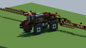 Case IH Patriot 4440, Sprayer [With Download] Minecraft Map & Project