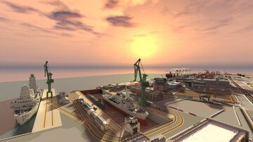 Naval / Coast guard Base Minecraft Map & Project