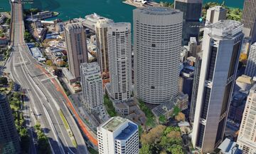 Grosvenor Place & Cove Apartments, Sydney 1:1 Scale [BuildTheEarth Oceania] Minecraft Map & Project