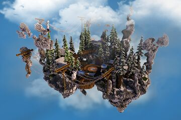 ❄️WINTER SPAWN❄️ Minecraft Map & Project