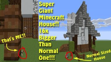 Jumbo House Parkour! Minecraft Map & Project