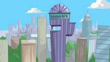 Dr Heinz Doofenshmirtz Evil Incorporated - 1.17 Minecraft Map & Project
