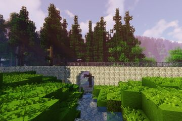Nova Role - Nova Role zastavka (part 8 of project railway KVJG 2020) Minecraft Map & Project