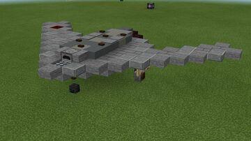"""1:1 scale S-70 """"Okhotnik-B"""" Minecraft Map & Project"""
