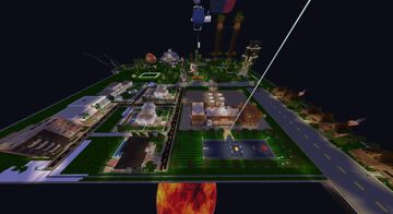 Fortress Fun Town Minecraft Map & Project