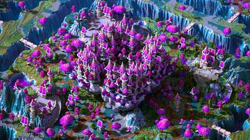 Pink Magic Spawn + Warzone by Fantaster Minecraft Map & Project