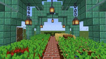 Simple Greenhouse I Minecraft Map & Project