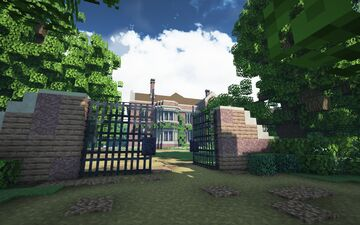 Hawksmere hall/opera house, Linfordshire Minecraft Map & Project