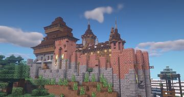 Castle Altenfels Minecraft Map & Project