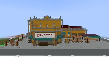 Tropico 6 Grocery Minecraft Map & Project