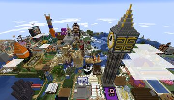 [1.17.1] Stampy's and Brett's Lovely World (Late July 2021) Minecraft Map & Project