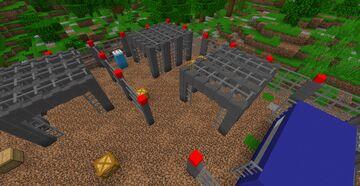 Fallen jurassic world TEXTURE PACK IN THE DESCRIPTION Minecraft Map & Project