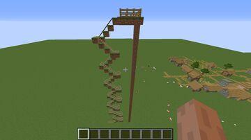 mini rollercoaster Minecraft Map & Project