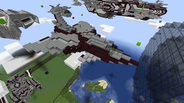 Wyvern Class Attack Craft Minecraft Map & Project