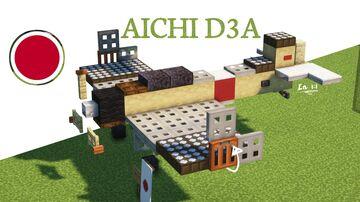 Aichi D3A Minecraft Map & Project