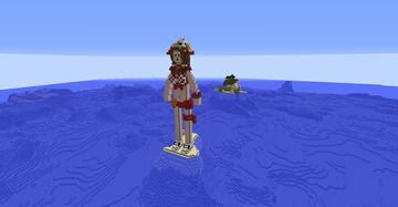 Diaochan - The Crystal Lotus - skin Summer Bash Minecraft Map & Project