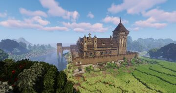 Rugasburg [Teutonic knights order castle] Minecraft Map & Project