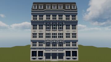 Broadway House, Westminster Minecraft Map & Project