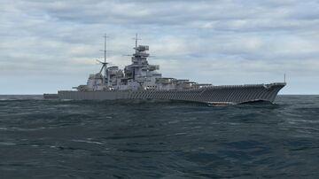 Line battleship type I (sc. ~3:1) Minecraft Map & Project