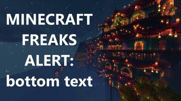 VIDEO: Funtazer's Minecraft 1.17 Cliff Temple Walkthrough | Creative Build | Survival Friendly | f. my boi Minecraft Map & Project