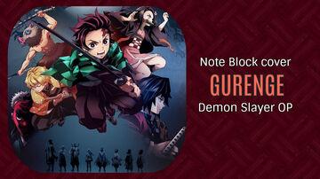 Gurenge - Demon Slayer OP - Minecraft Note Block Cover Minecraft Map & Project