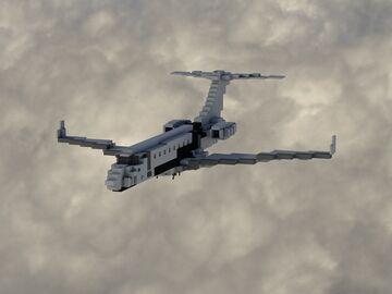 Private jet rework // Minecraft Map & Project