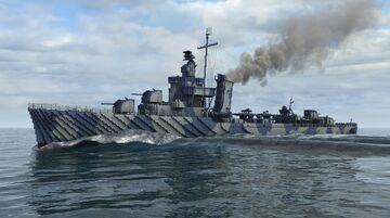 USS Hammann Minecraft Map & Project