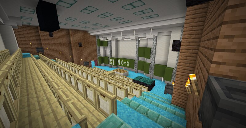 Lecture halls 1-8
