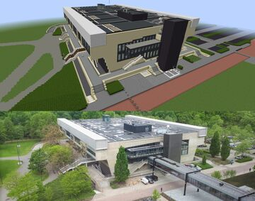 Auditorium building (TU Eindhoven) [1.16.5] Minecraft Map & Project