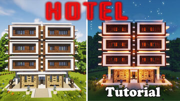 hotel in minecraft Minecraft Map & Project