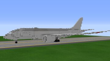 Boeing 787-8 Dreamliner - 1.25:1 Scale Minecraft Map & Project
