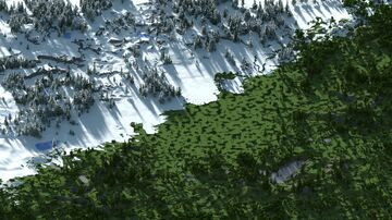 Warzona winter-plain [WorldPainter] Minecraft Map & Project