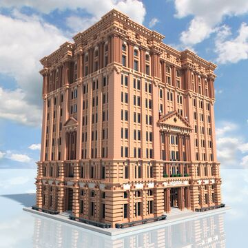 Capitol Stock Exchange Building Minecraft Map & Project