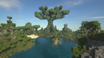 fragger57's Kashyyyk Minecraft Map & Project