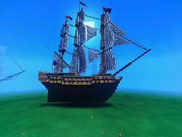 HMS Boniface Minecraft Map & Project