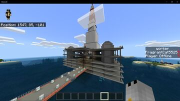 Rig-2 (Oil Rig Project) Minecraft Map & Project
