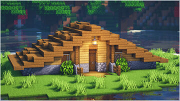 Simple Cozy Survival House Minecraft Map & Project