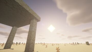 Desert Structures (SHADERS) - Showcase Minecraft Map & Project