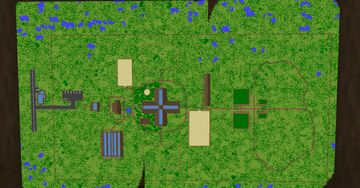 Blue Pine Equestrian Center Minecraft Map & Project
