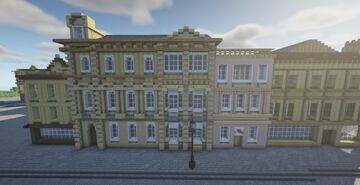 Princess Hotel and The Pink Lady Pub Minecraft Map & Project