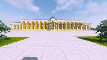 Schloss Sanssouci (Full set up) + DOWLAOD Minecraft Map & Project