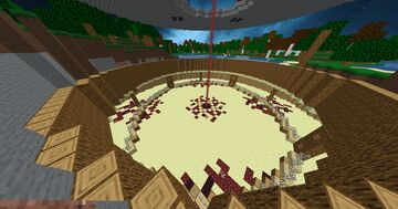 Vincyy - PvP Arena in the wild Minecraft Map & Project