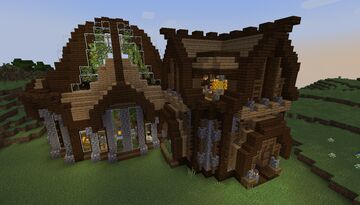 Medieval Theme Apiary (Beekeeper Farm) - Build Idea - [World Download] Minecraft Map & Project