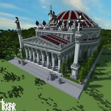 The Pantheon Minecraft Map & Project