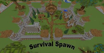 Castle Survival Spawn Minecraft Map & Project