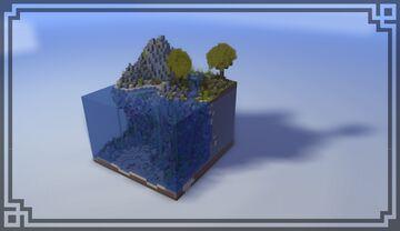UnderWater Minecraft Scene Minecraft Map & Project