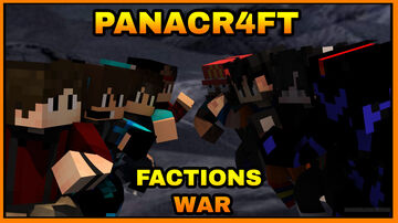 PanaCr4ft: Factions War Minecraft Map & Project