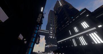 Cyber Punk / Hyper Futuristic Minecraft City Minecraft Map & Project